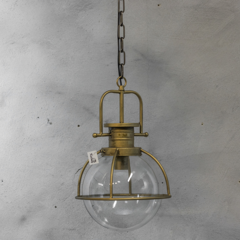 Iets Nieuws Hanglamp met glazen bol   Kolony - By.May Living and Lifestyle &LX89