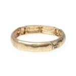 Armband plain M gold | Bud To Rose