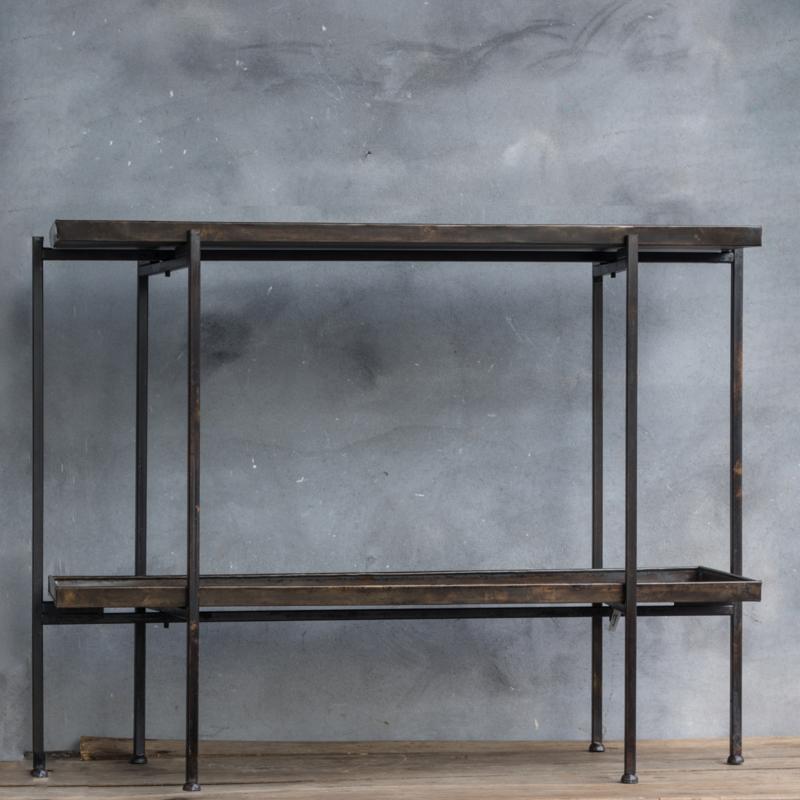 Ijzeren Side Table.Metalen Side Table Kolony