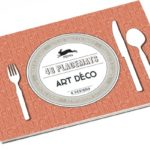 Papieren placemat pakket met Art Deco prints | Pepin