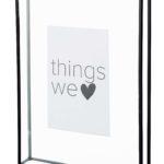 Fotolijst glas met metalen rand M