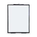 Fotolijst zwart/metaal incl. slot en leren koord – 14 x 19 cm | Vtwonen