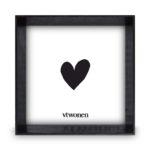 Zwarte houten fotolijst 18x18x4 | Vtwonen