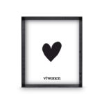 Zwarte houten fotolijst 30x35x4 | Vtwonen