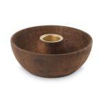 Ronde houten kandelaar | Vtwonen
