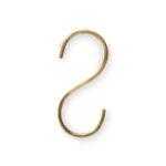 Goudkleurige s-haken, set van 6 | Vtwonen