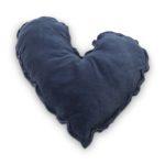 Velvet kussen blauw | Vtwonen