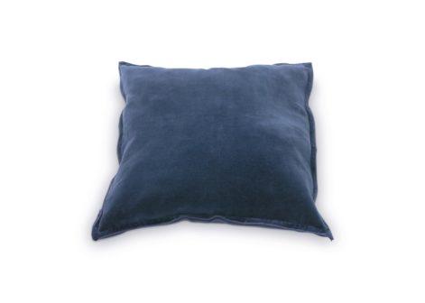 Vtwonen kussen linnen tie dye licht blauw licht bruin cm