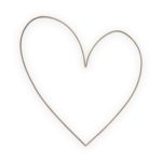 Wandornament metalen hart | vtwonen