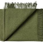 Wollen plaid Athen groen 130×200 | Silkeborg