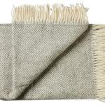 Wollen plaid Femø grijs 130×200 | Silkeborg