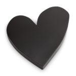 Metalen hart zwart | Vtwonen