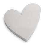Metalen hart grijs | Vtwonen
