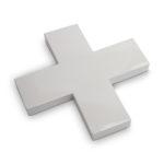 Metalen kruis grijs | Vtwonen