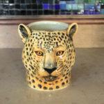 Luipaard Pennenhouder | Quail Ceramics