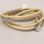 Armband sand staal | Priddy