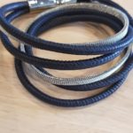 Armband blauw staal | Priddy