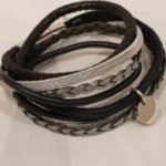Armband staal blauw | Priddy