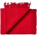 Wollen plaid Athen rood 130×200 | Silkeborg