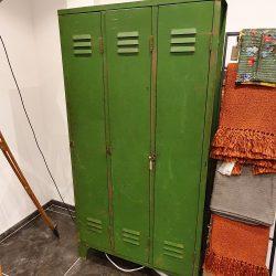 Vintage Industriële Lockerkast