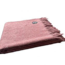Alpaca plaid roze